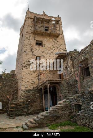 Al-Bahah Al-Namas fort, Region, Altawlah, Saudi-Arabien Stockbild