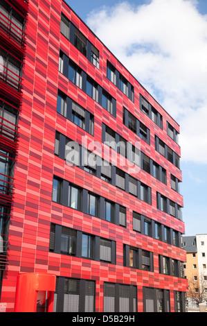 Coca Cola-Bau, Berlin, Deutschland Stockbild