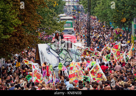 Notting Hill Carnival, London, England Stockbild