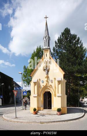 Max Emanuel Kapelle, Altstadt, Wasserburg a. Inn, Oberbayern, Bayern, Deutschland, Europa ich Max-Emanuel-Kapelle, Altstadt, Wasserburg a. Inn, Oberbaye Stockbild