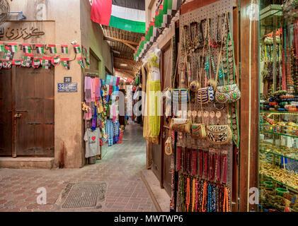 Souk in Deira, Dubai, Vereinigte Arabische Emirate, Naher Osten Stockbild