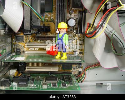 Symbolbild für Hardware Upgrade Speichererweiterung etc. Stockbild