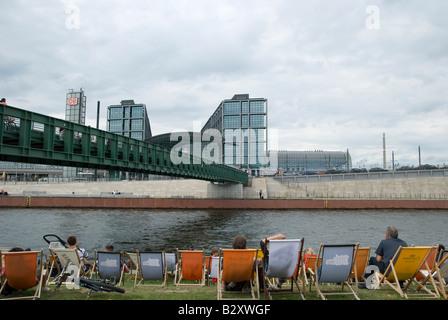 Hauptbahnhof Berlin - hauptbahnhof Stockbild