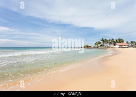 Asien - Sri Lanka - induruwa - durch den idyllischen Strand Landschaft beeindruckt. Stockbild