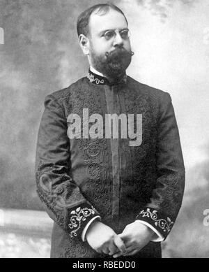 JOHN PHILIP SOUSA (1854-1932), amerikanischer Komponist und Dirigent Stockbild