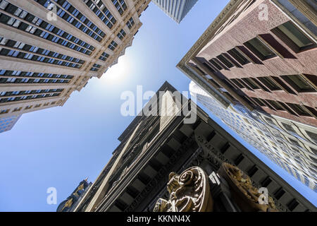 Moderne und historische Architektur, Downtown, San Francisco, Kalifornien, USA Stockbild