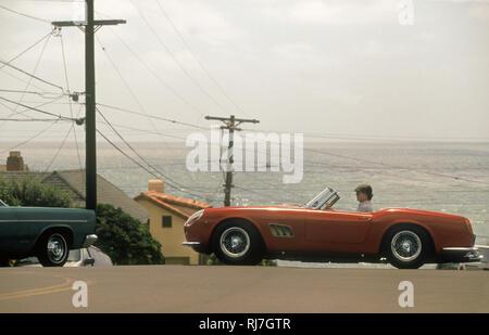 Ferrari 250 California Spider fahren in Kalifornien, USA 1997 Stockbild