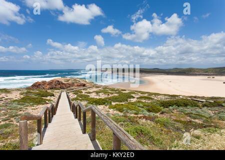 Portugal - Algarve - Praia da bordeira - Europa Stockbild