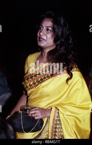 Nahaufnahme von smita Patil weg schauen, Indien, Asien Stockbild