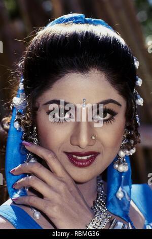 Portrait von Shilpa Shetty, Indien, Asien Stockbild