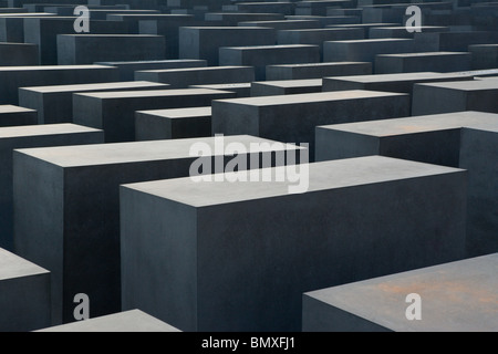 Berlin-Holocaust-Mahnmal Stockbild