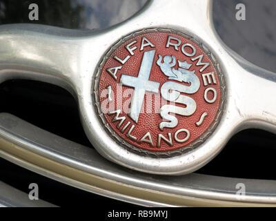 Alfa Romeo 6C 2500 1947 Stockbild