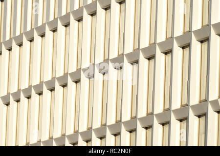 Bürogebäude, Windows, Bremer Überseestadt, Baustelle, Deutschland, Europa Stockbild