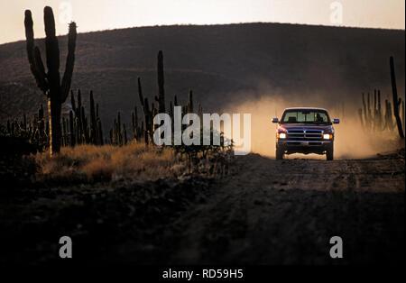 Dodge Ram V10 Pick-up Truck in Mexiko 1993 Stockbild