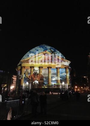 Festival of lights in Berlin Stockbild