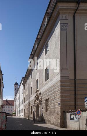 Heimatmuseum in der Alten Stadt, Günzburg, Schwaben, Bayern, Deutschland, Europa ich Heimatmuseum in der Altstadt, Günzburg, Schwaben, Bayern, sind Stockbild