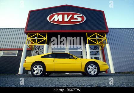 MVS Venturi GT 1987 in der Fabrik in Frankreich Stockbild