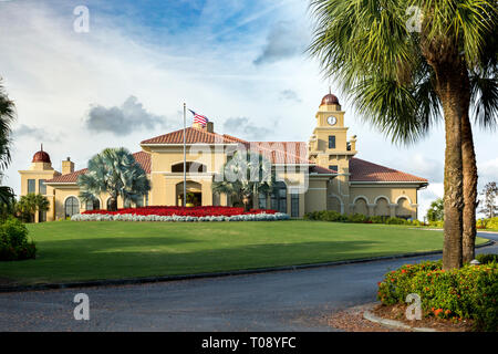 Olde Cypress Country Club, Naples, Florida, USA Stockbild