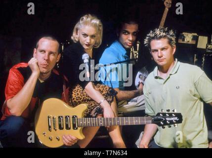 Kein Zweifel uns Gruppe etwa 1996. Foto: Jeffrey Mayer Stockbild