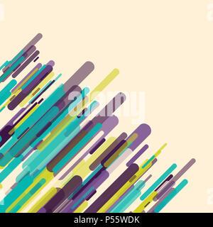 Retro Hintergrund mit einer abstrakten Design Stockbild