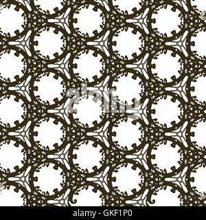 Vektormuster - geometrische einfache moderne Textur. Stockbild