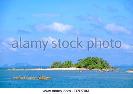Thailand, Provinz Trang, Ko Sukorn Insel, Ansicht vom Verbot Siammai Dorf Stockbild