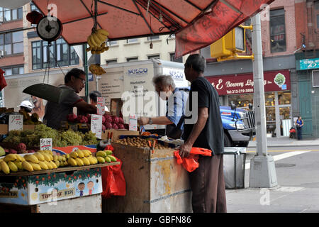 Obstmarkt Stockbild