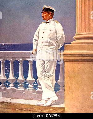 WILHELM II. (1859-1941) letzte deutsche Kaiser Stockbild