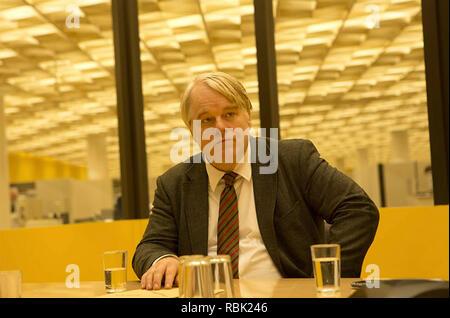 Der meistgesuchte Mann 2014 Lionsgate Film mit Philip Seymour Hoffman Stockbild