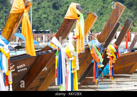 Thailand - Tradition von Ko Phi Phi Don - Krabi - Asien Stockbild
