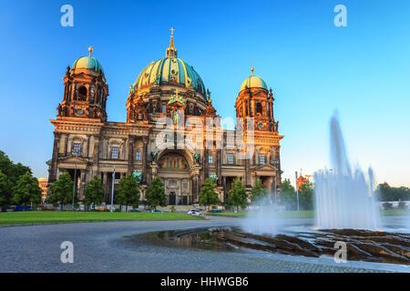 Berliner Dom oder der Berliner Dom, Berlin, Deutschland Stockbild