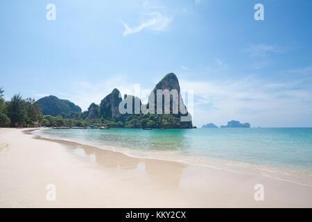 Thailand - Railay West Beach - Krabi - Asien Stockbild