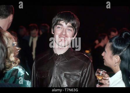 OASIS UK Rock Gruppe mit Noel Gallagher im Februar 1996 Stockbild