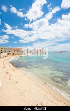 Gallipoli, Apulien, Italien - faszinierende Küste eine eindrucksvolle italienische Stadt Stockbild