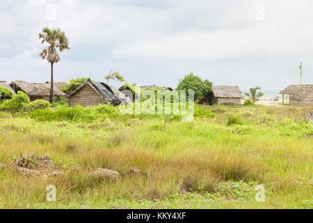 Leben in Talawila, Sri Lanka, Asien Stockbild