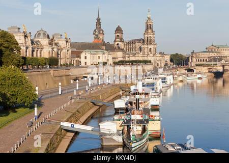 Dresden - Deutschland - Jettys, Europa Stockbild