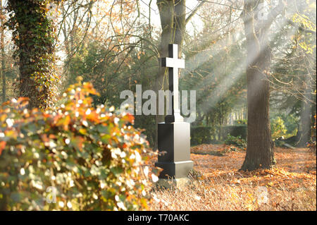 Friedhof 26. Stockbild
