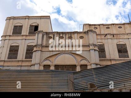 Alte abandonned Haus, Mekka Provinz, Taïf, Saudi-Arabien Stockbild