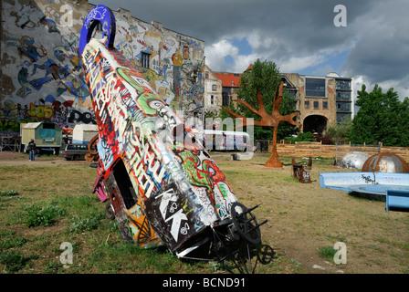 Berlin Deutschland Tacheles Kunsthaus in der Oranienburger Straße Stockbild