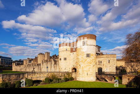 Tower of London, UNESCO-Weltkulturerbe, London, England, Vereinigtes Königreich, Europa Stockbild