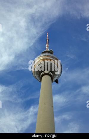 [Fernsehturm] Fernsehturm Alexanderplatz Berlin Mitte Stockbild
