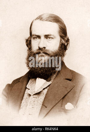 JOSEPH LEIDY (18234-1891) amerikanische Arzt, Anatom, Paläontologe ca. 1870 Stockbild