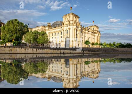 Blick auf die Stadt Berlin Stockbild