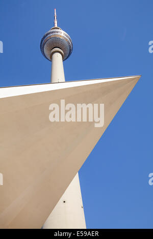 Fernsehturm, Berlin, Deutschland Stockbild