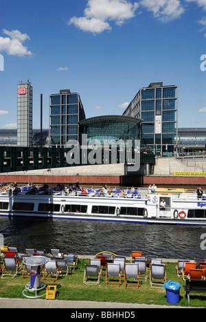 Hauptbahnhof Berlin-Deutschland-Hauptbahnhof Stockbild
