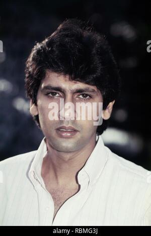 Portrait von Kumar Gaurav, Indien, Asien Stockbild