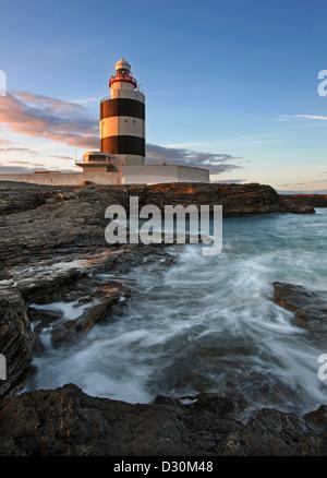 Hook Head Lighthouse, Co. Wexford, Irland. Stockbild