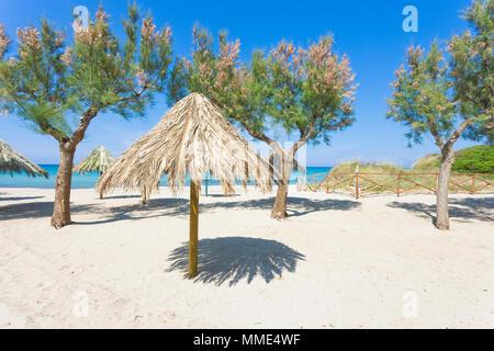 Spiaggia Terme, Apulien, Italien - Genießen Sie die Ruhe am Strand von Spiaggia Terme Stockbild
