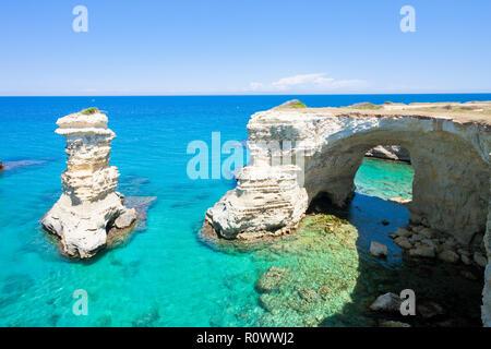 Sant Andrea, Apulien, Italien - Genießen Sie die idyllische Landschaft rund um Sant Andrea Stockbild