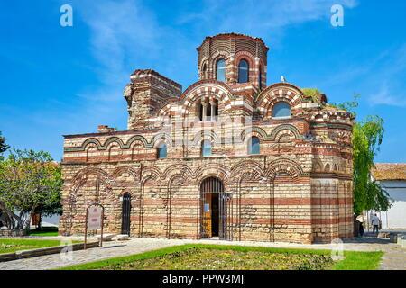 Christus Pantokrator Kirche, Nessebar, Bulgarien Stockbild